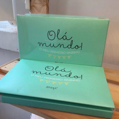 Álbum Olá Mundo Mr Wonderful