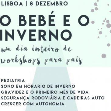 CENTRO DO BEBÉ ORGANIZA UM DIA INTEIRO DE WORKSHOPS PARA PAIS